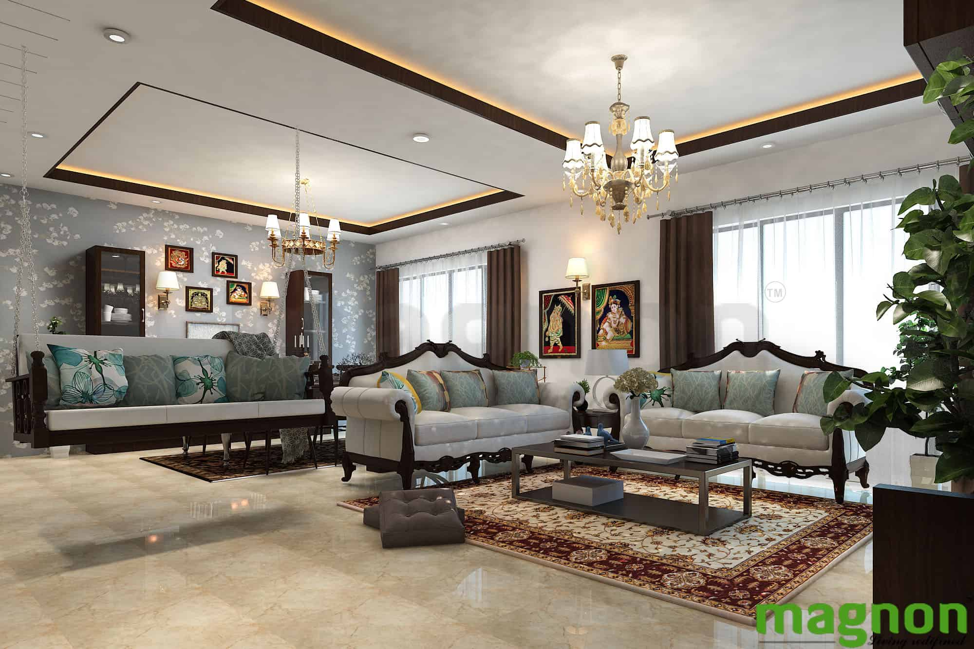 Designing Ideas for Small Living Rooms - Magnon India ...