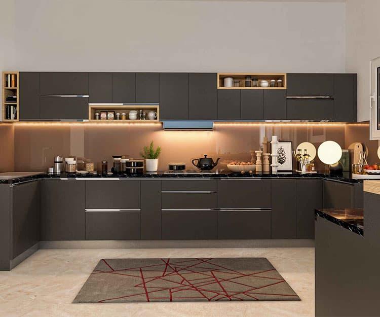 Interior Design Kitchen Photos: Modular Kitchen - Magnon India