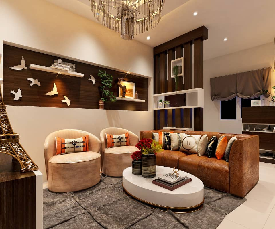 Interia Design: Living Room Interior Designers In Bangalore