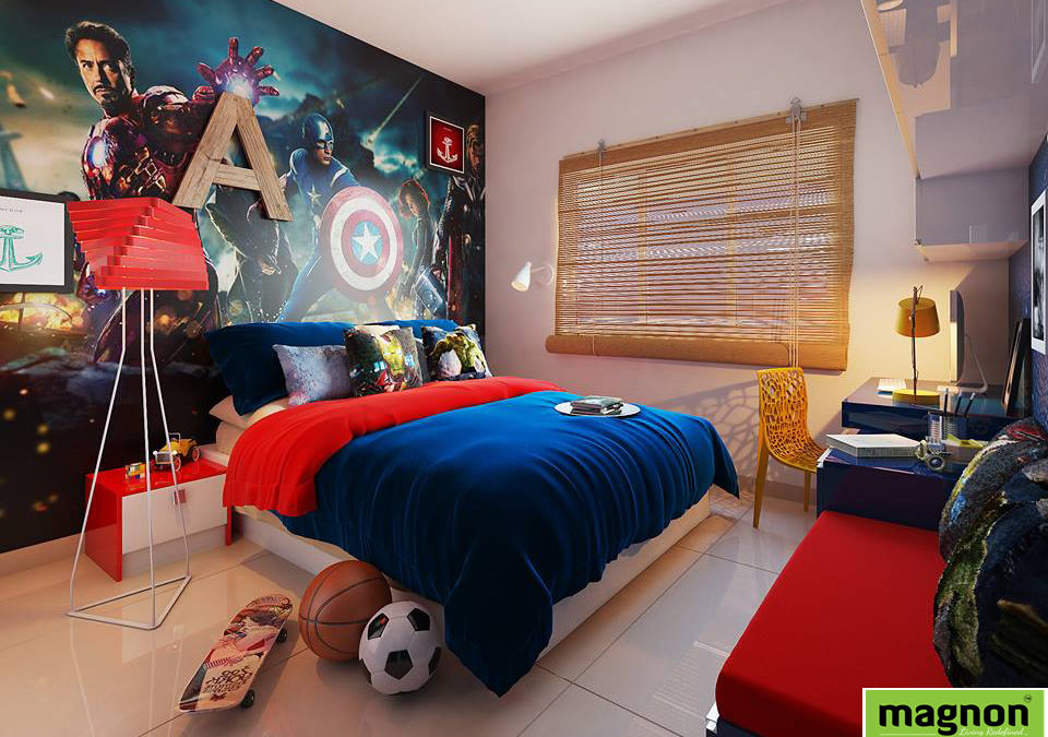 Best Interior Designers Whitefield - Stylish Boys Bedroom ...