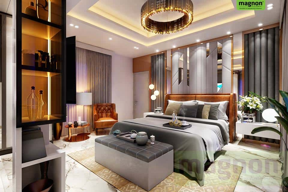 Top Bangalore Interior Designers - Luxury Master Bedroom ...